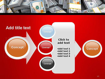 Money Heap PowerPoint Template Slide 17