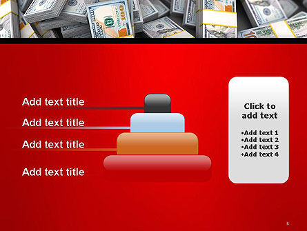 Money Heap PowerPoint Template Slide 8