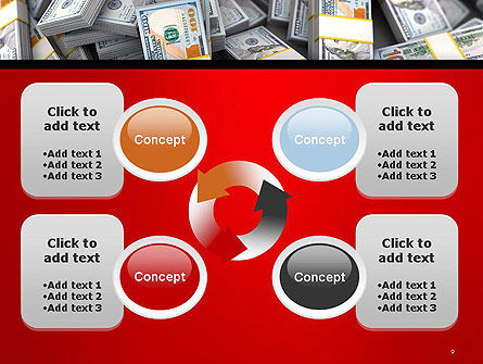 Money Heap PowerPoint Template Slide 9