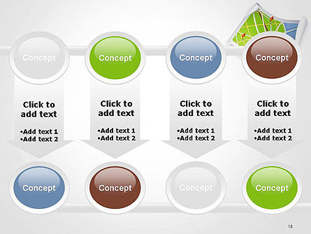 Compass and Road Map PowerPoint Template Slide 18