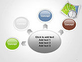 Compass and Road Map PowerPoint Template#7