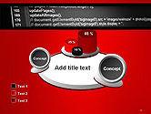 Javascript Code Lines PowerPoint Template#16