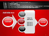 Javascript Code Lines PowerPoint Template#17