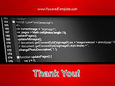 Javascript Code Lines PowerPoint Template#20
