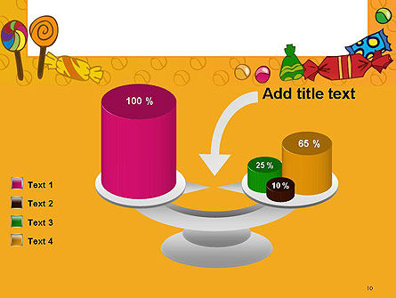 Candy Frame PowerPoint Template Slide 10