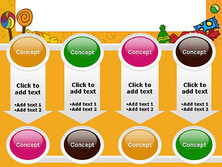 Candy Frame PowerPoint Template Slide 18