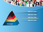 Group of Diverse Multiethnic Cheerful People PowerPoint Template#12