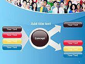 Group of Diverse Multiethnic Cheerful People PowerPoint Template#14