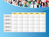 Group of Diverse Multiethnic Cheerful People PowerPoint Template#15