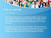 Group of Diverse Multiethnic Cheerful People PowerPoint Template#2