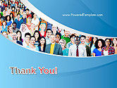 Group of Diverse Multiethnic Cheerful People PowerPoint Template#20
