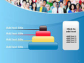 Group of Diverse Multiethnic Cheerful People PowerPoint Template#8