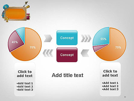Arabic Frame PowerPoint Template Slide 11
