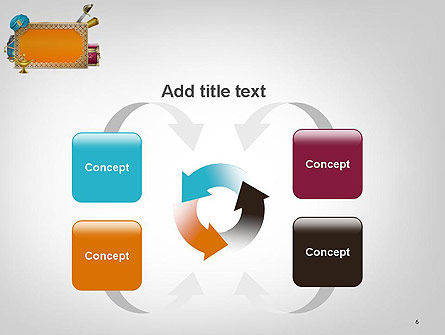 Arabic Frame PowerPoint Template Slide 6