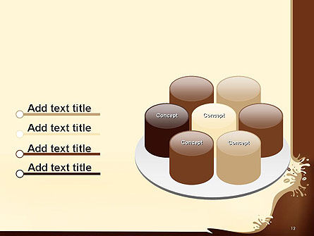 Coffee Splash and Beans PowerPoint Template Slide 12