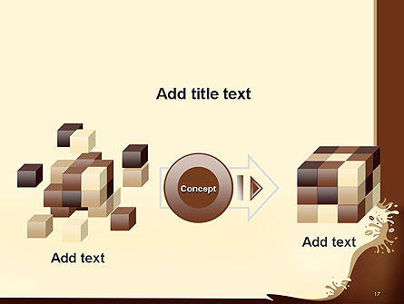 Coffee Splash and Beans PowerPoint Template Slide 17