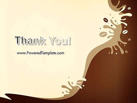 Coffee Splash and Beans PowerPoint Template Slide 20