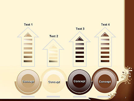 Coffee Splash and Beans PowerPoint Template Slide 7