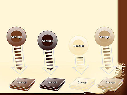 Coffee Splash and Beans PowerPoint Template Slide 8