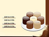 Coffee Splash and Beans PowerPoint Template#12