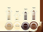 Coffee Splash and Beans PowerPoint Template#7