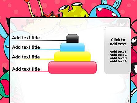 Pink Monster Frame PowerPoint Template Slide 8