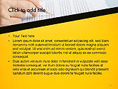 Woman Working with Text PowerPoint Template#2
