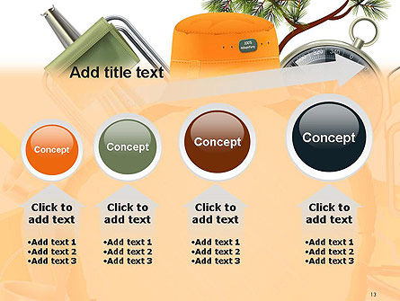 Camping Theme PowerPoint Template Slide 13