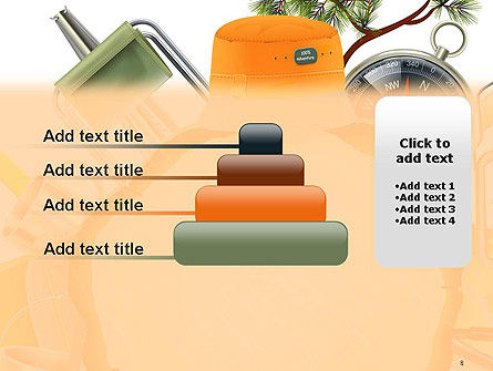 Camping Theme PowerPoint Template Slide 8