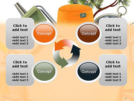 Camping Theme PowerPoint Template Slide 9