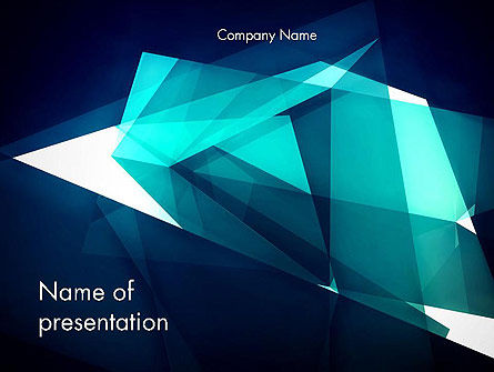 Abstract/Textures: Dynamic Composition Abstract PowerPoint Template #14526