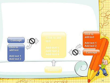 School Kids Frame PowerPoint Template Slide 13