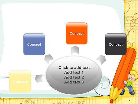 School Kids Frame PowerPoint Template Slide 7