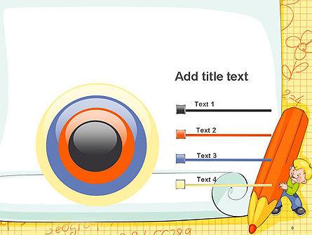 School Kids Frame PowerPoint Template Slide 9