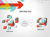Colorful Arrows Pointing into Opposite Directions PowerPoint Template#17