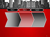 Modern City Silhouette PowerPoint Template#16