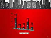 Modern City Silhouette PowerPoint Template#17