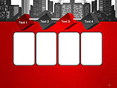 Modern City Silhouette PowerPoint Template#18