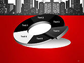 Modern City Silhouette PowerPoint Template#19