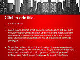 Modern City Silhouette PowerPoint Template#2