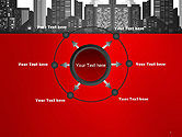 Modern City Silhouette PowerPoint Template#7