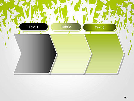 Green Spring Background PowerPoint Template Slide 16