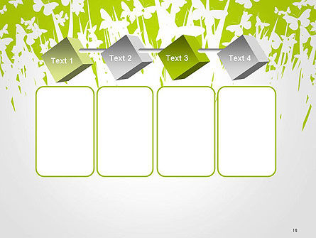 Green Spring Background PowerPoint Template Slide 18