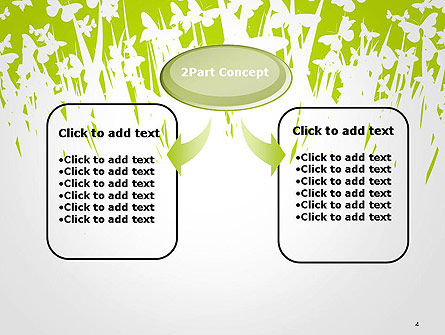 Green Spring Background PowerPoint Template Slide 4