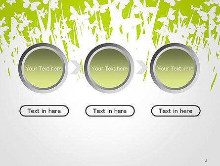 Green Spring Background PowerPoint Template Slide 5