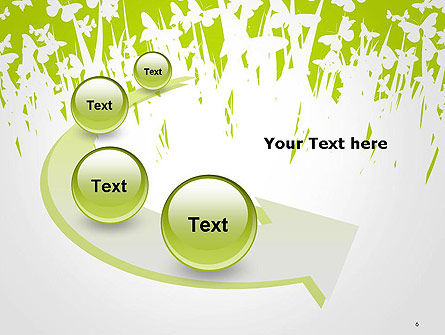 Green Spring Background PowerPoint Template Slide 6
