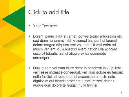 Abstract Hexagon Mosaic PowerPoint Template, Slide 3, 14533, Abstract/Textures — PoweredTemplate.com