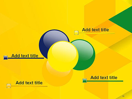 Abstract Hexagon Mosaic PowerPoint Template Slide 10