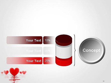 Heart Monitoring Concept PowerPoint Template Slide 11