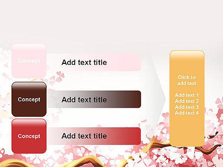 Cherry Blossom PowerPoint Template Slide 12